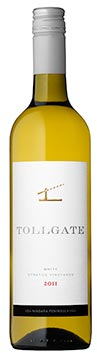 A bottle of Stratus Tollgate White, 2011